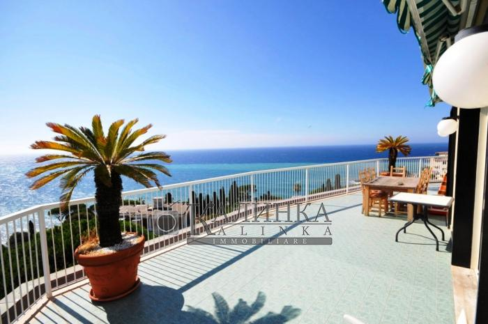 Sea view modern apartments in Sanremo