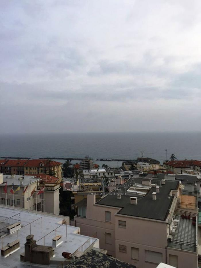 Penthouse with great seaview in Sanremo