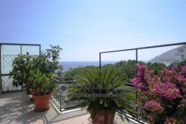 Beautiful penthouse with sea view in Foce, Sanremo
