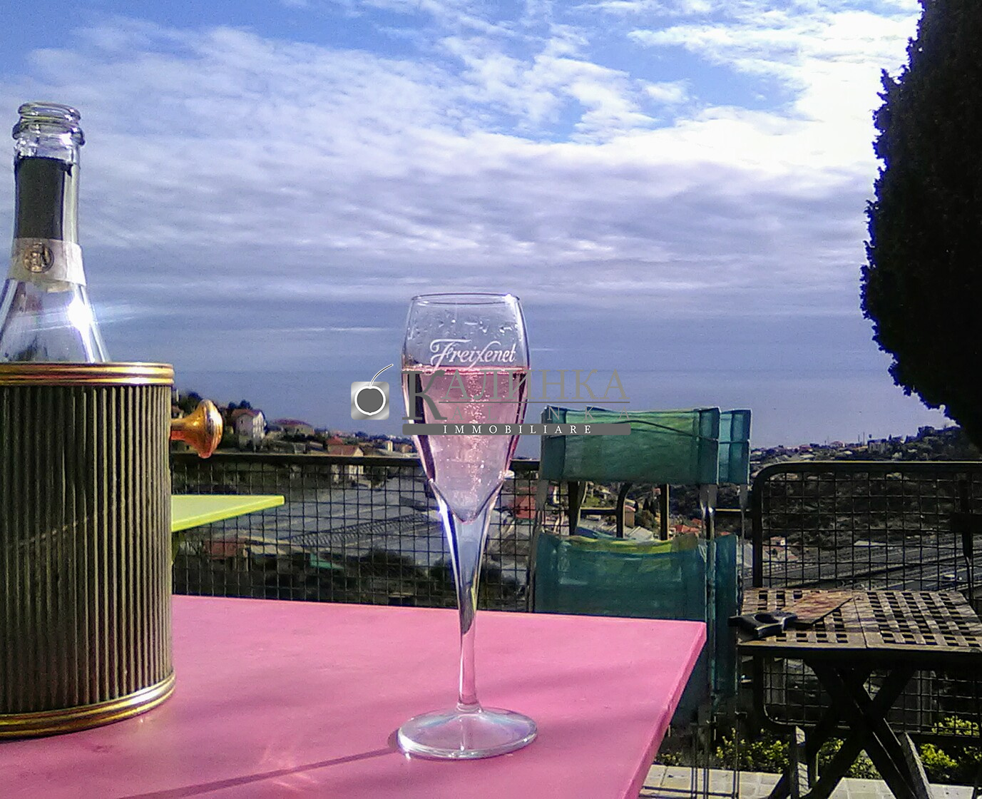 Apartment in Sanremo with sea view