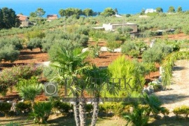 Villa with sea view in Scopello