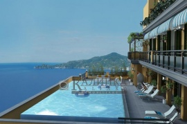 New  luxury apartments overlooking Ligurian Gulf  in Chiavari