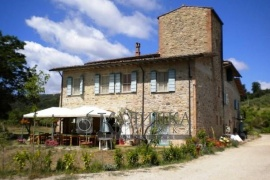 Agriturismo with a winery.